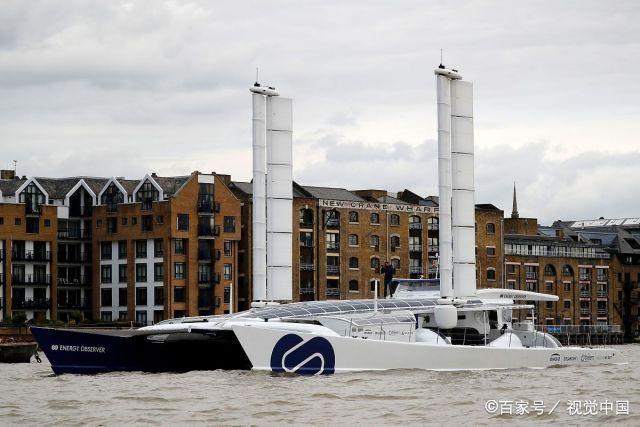 2019年10月世界首艘氢能源船艇能源观察者号访问伦敦.jpg